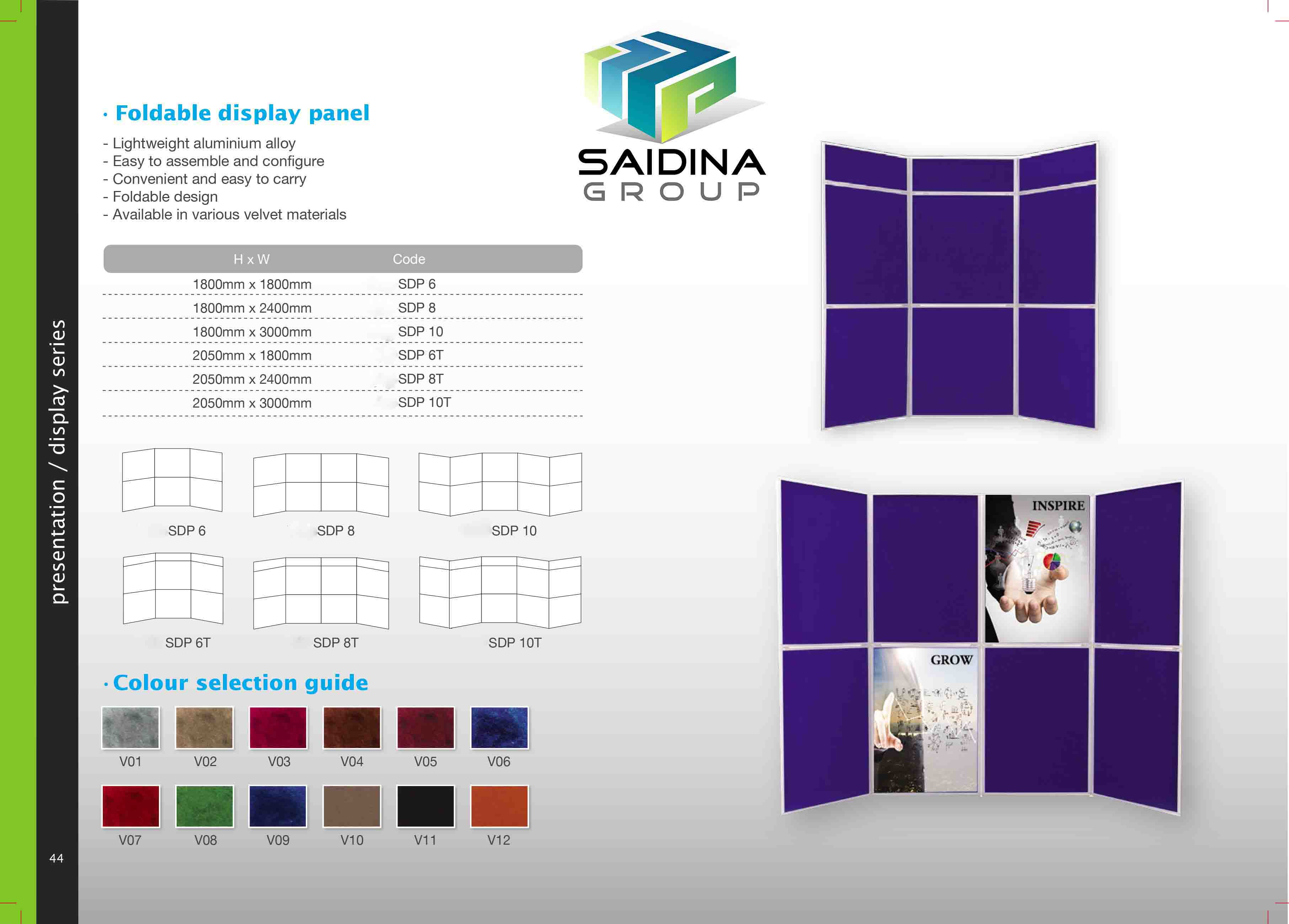 Foldable Display Panel