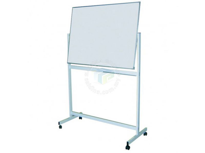 Double Sided White Board cw stand
