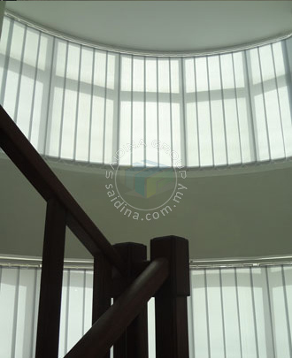 Vertical Curve Blinds